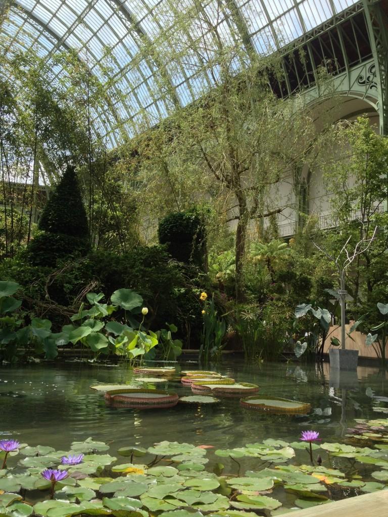 L art du jardin au grand palais lou 39 ise going out for Art du jardin grand palais