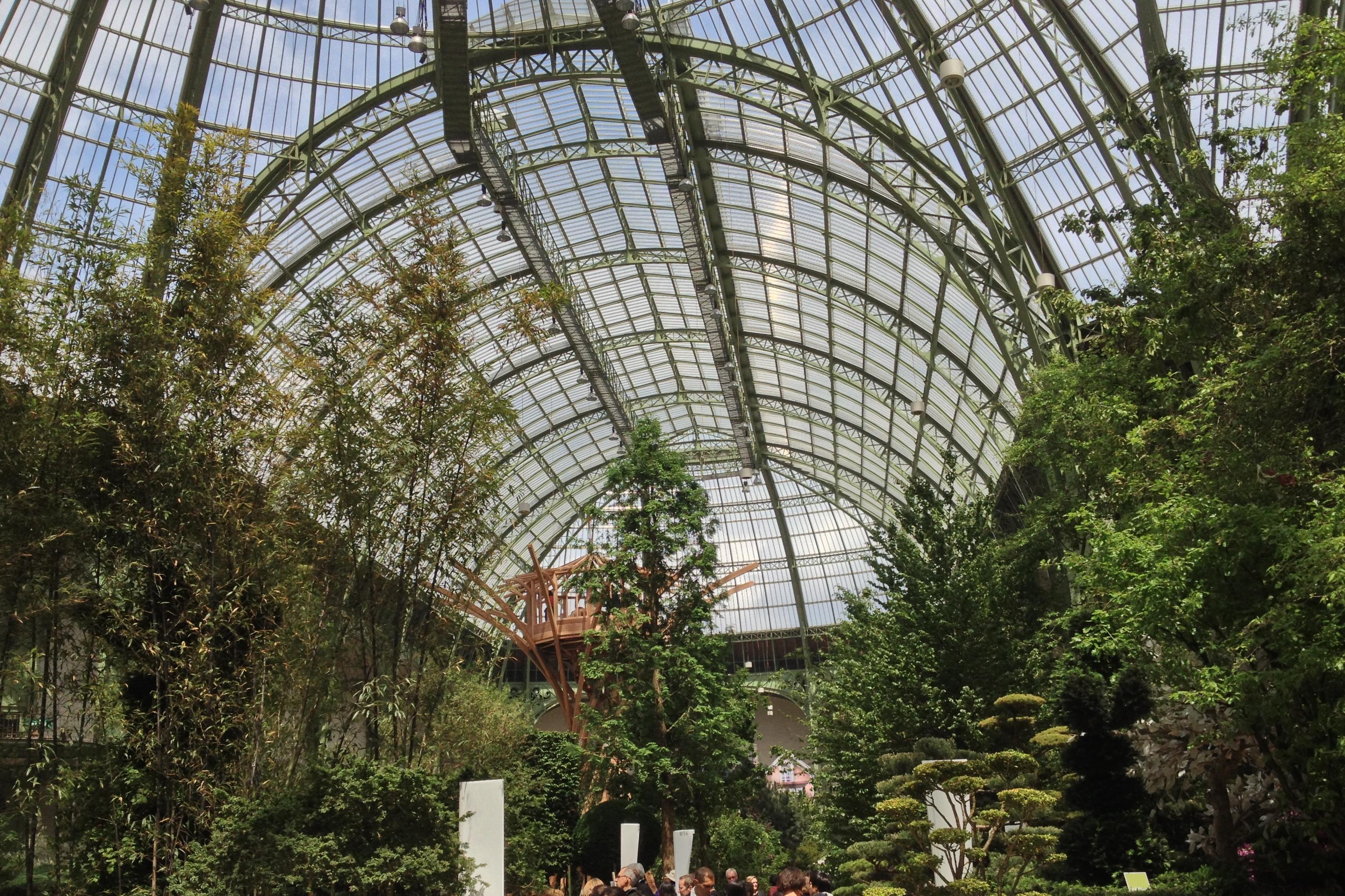 L art du jardin au grand palais lou 39 ise going out for Art du jardin zbinden sa