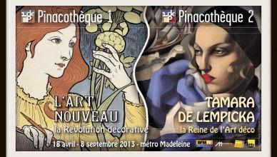 LArt-nouveau-Tamara-de-Lempicka-à-la-Pinacothèque-Affiche