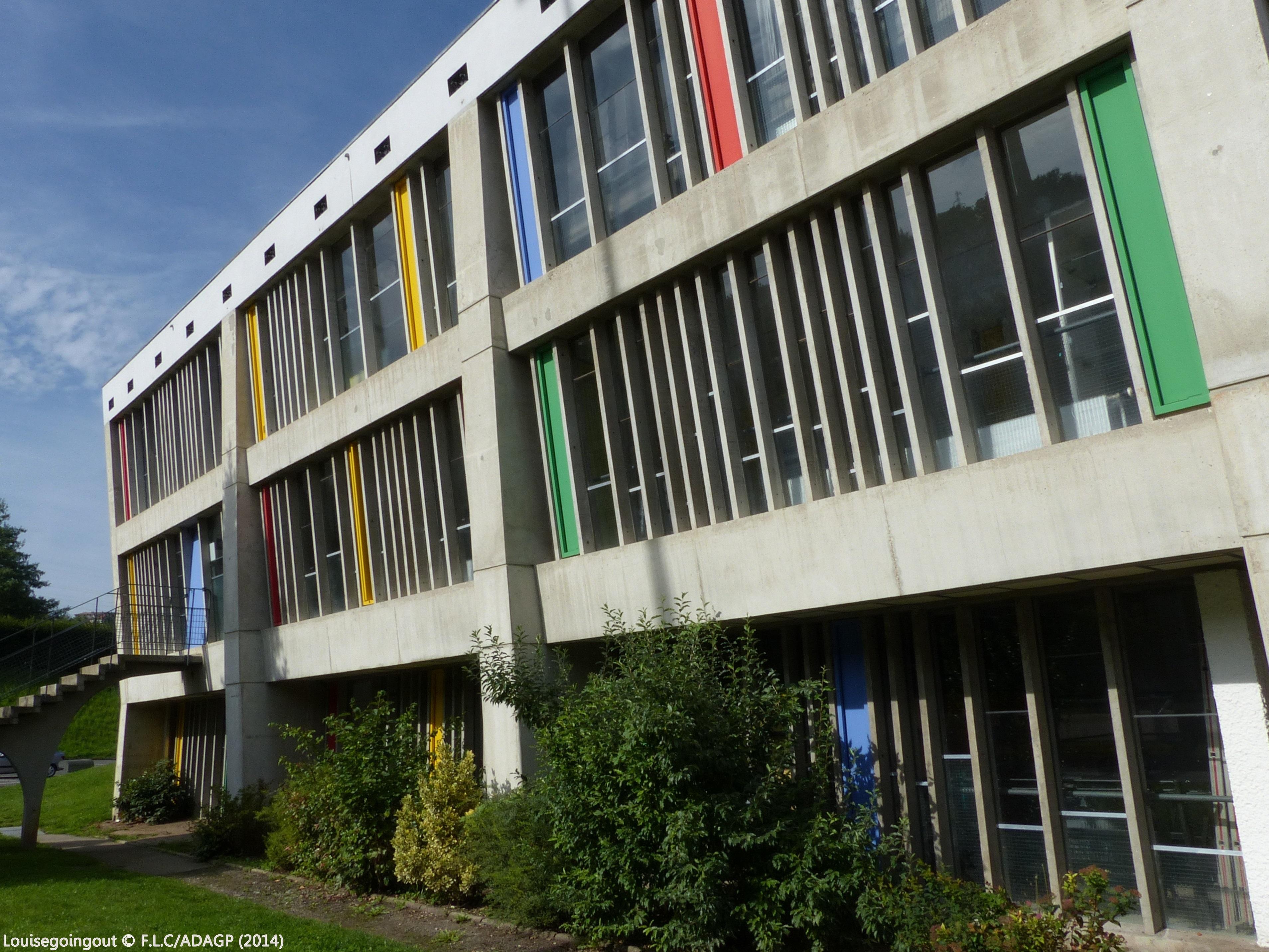 Le site le corbusier de firminy vert lou 39 ise going out - Maison de la culture de firminy vert ...