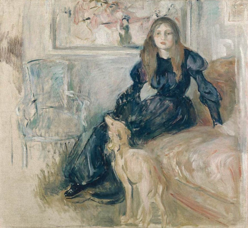 berthe-morisot.-julie-manet-et-sa-levrette-laerte-1893-